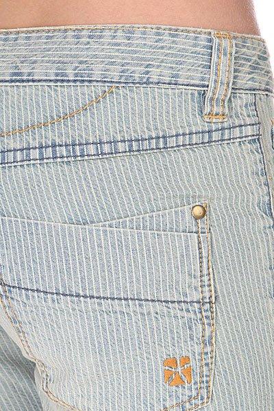 Шорты джинсовые женские Animal Denim Short Blue