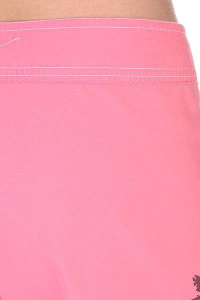 Шорты пляжные женские Animal Knee Length Boardshort Pink