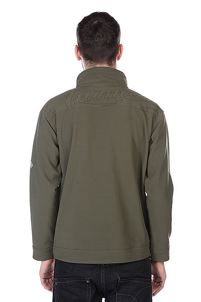 Толстовка Animal Jimmy Jacket Fleece Dark Green