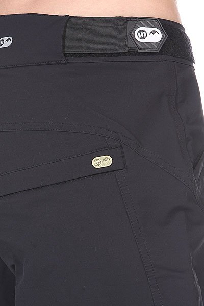 Шорты Animal Soft Shell Bike Short - Mid Weight. True Black