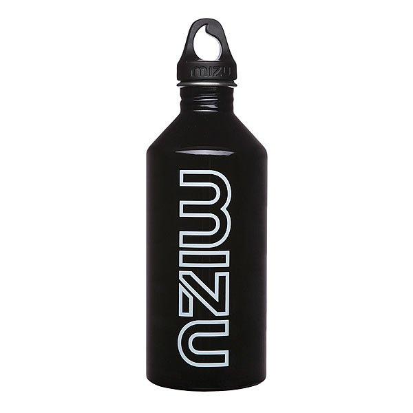 Бутылка для воды Mizu M12 1200ml Glossy Black Gitd Print
