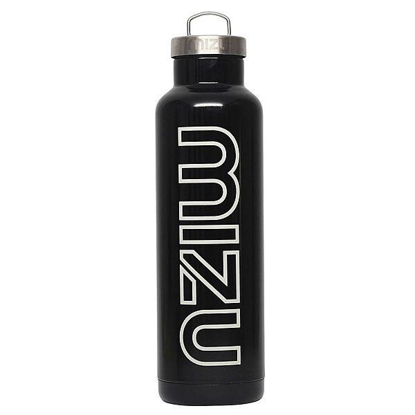 Бутылка для воды Mizu V8 800ml Glossy Black/White Print
