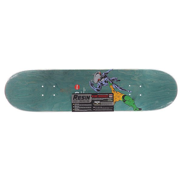 Дека для скейтборда Almost S5 Cooper Black Manta R7 Blue 31.6 x 8.0 (20.3 см)