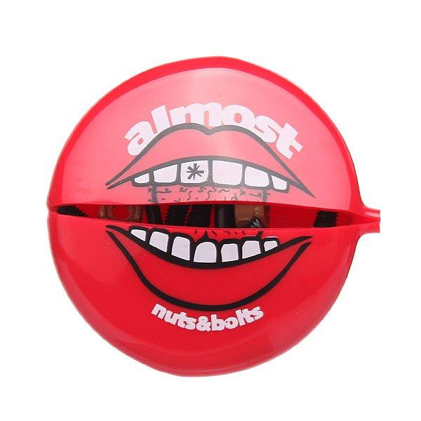 Винты для скейтборда Almost Nuts - Bolts In Your Mouth Hardware Allen Black/Beige Allen 7.8