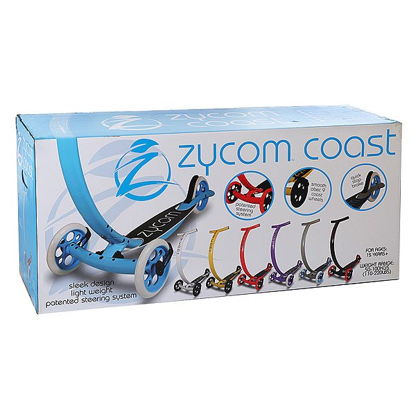 Самокат Zycom C500 Coast Circle Board Silver/Blue