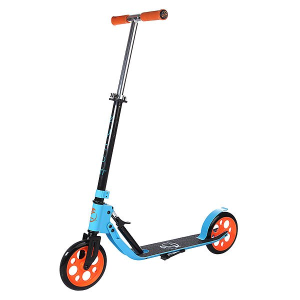 Самокат Zycom Easy Ride 200 Hydraulic Folding Scooter Blue/Orange