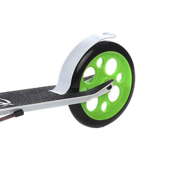 Самокат Zycom Easy Ride 200 Hydraulic Folding Scooter White/Green