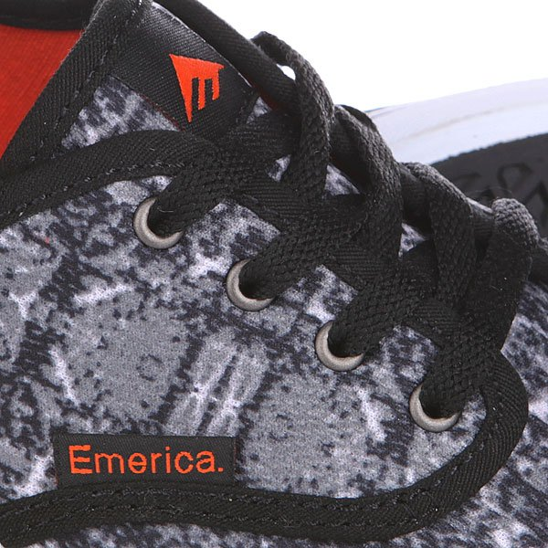 Кеды низкие Emerica Wino Cruiser Black/Orange