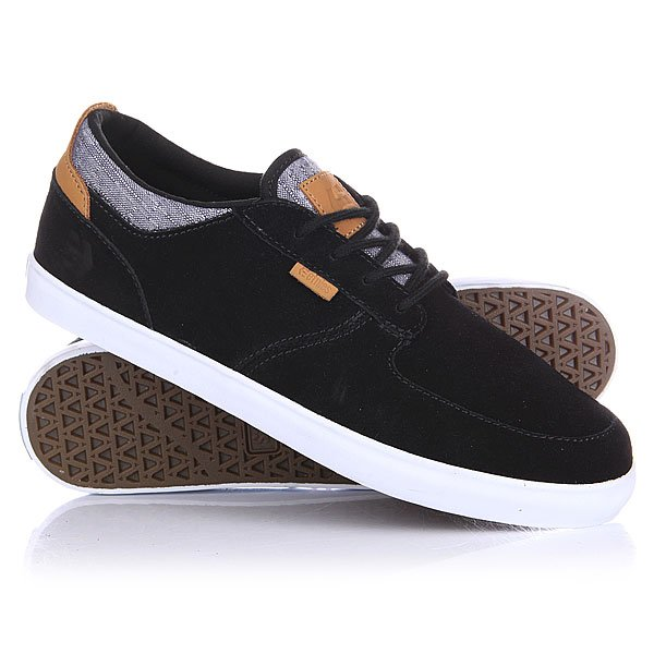 Кеды низкие Etnies Hitch Black/White/Gum