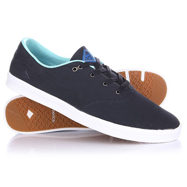 Кеды низкие Emerica The Reynolds Cruiser Lt Blue/White