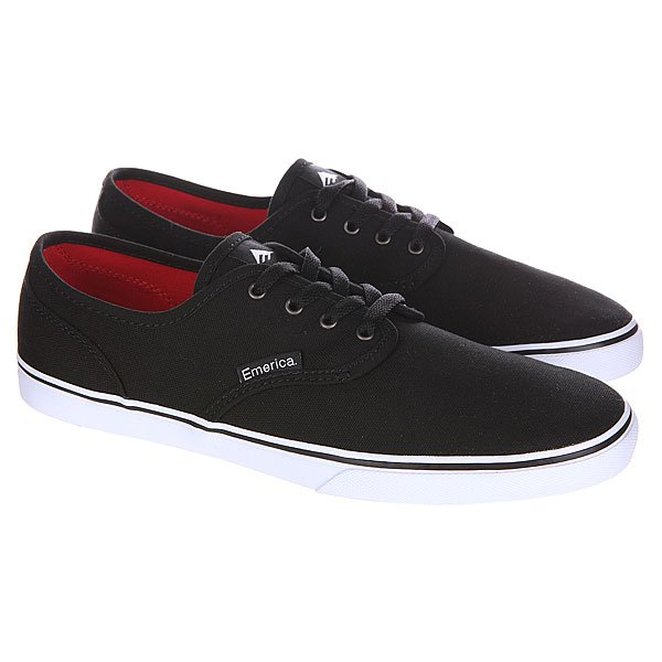 Кеды низкие Emerica Wino Cruiser Black/White