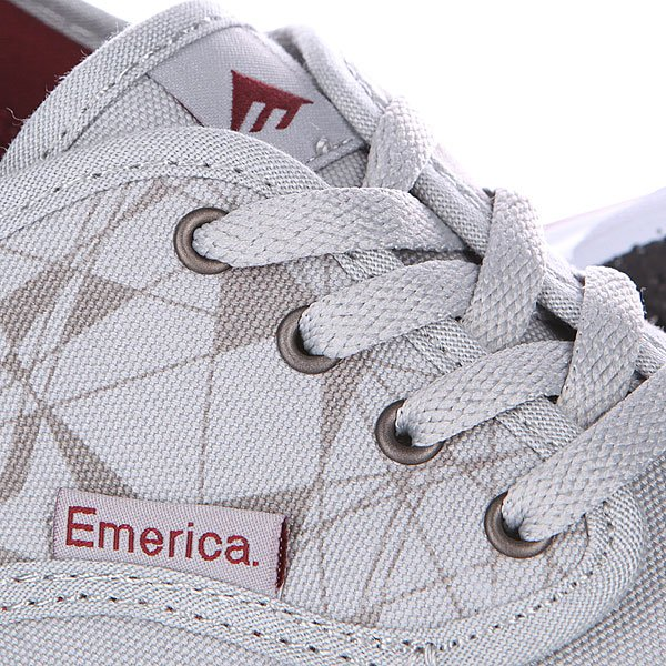 Кеды низкие Emerica Wino Cruiser Light Grey
