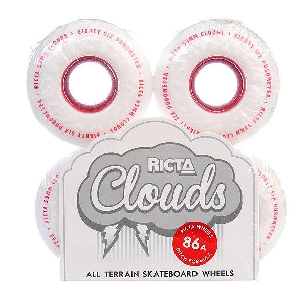 Колеса для скейтборда Ricta Clouds Red 86A 53 mm
