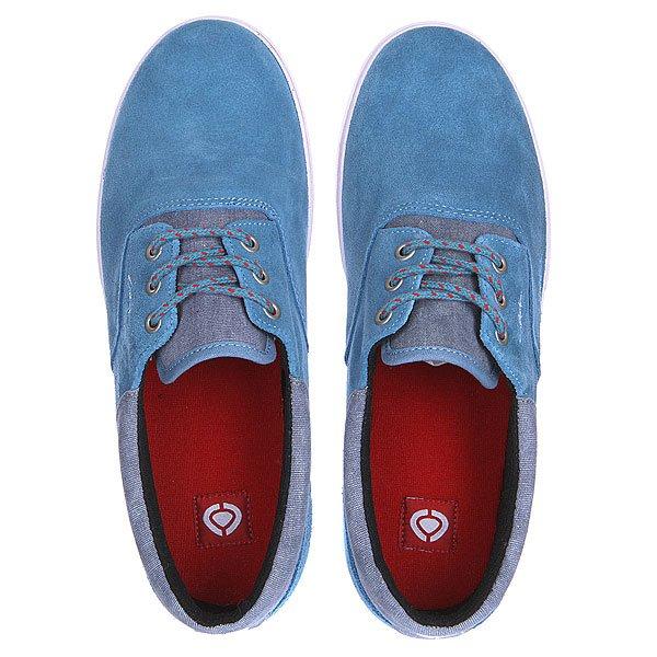 Кеды низкие Circa Valeo Se Prov Blue/Pompeian Red