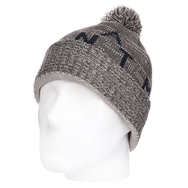 Шапка с помпоном Altamont Source Pom Beanie Military