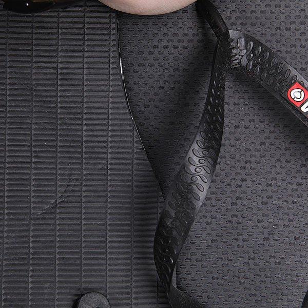 Шлепанцы Circa Logo Sandal Black