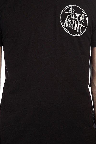 Футболка Altamont Marked Tee Black/White