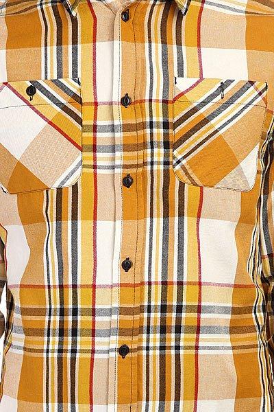 Рубашка в клетку Altamont Tungsten Ls Woven Copper