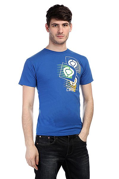 Футболка Circa Scramble Tee Royal Blue