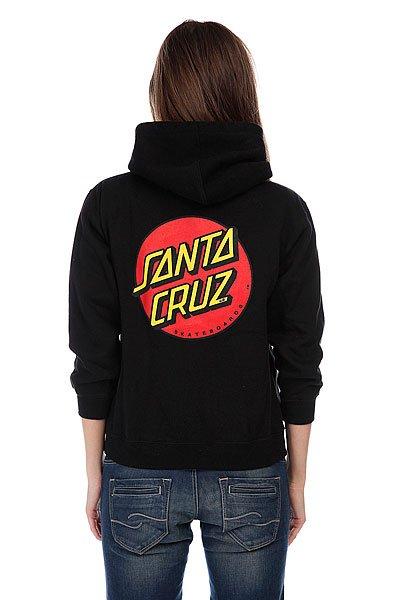 Толстовка женская Santa Cruz Classic Dot Black