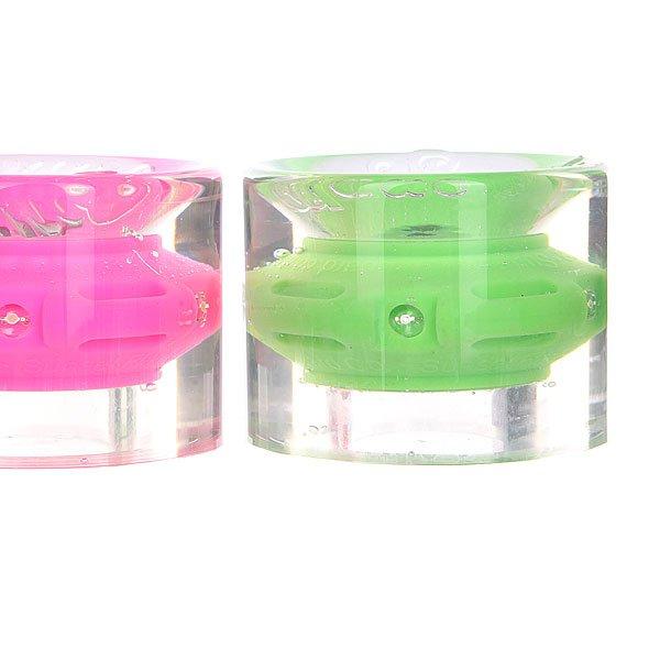 Колеса для лонгборда с подшипниками Sunset Cruiser Wheel With Abec9 Hippy Blue/Green/Red/Pink 78A 59 mm