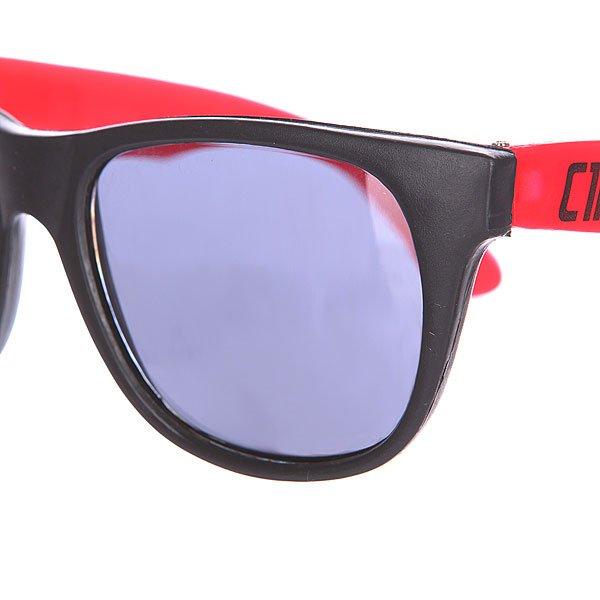 Очки Circa Plasty Black/Red Подарок