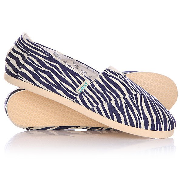 Эспадрильи женские Paez Sabana Fitted Zebra