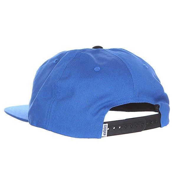 Бейсболка Etnies Flinch Snapback Hat Blue