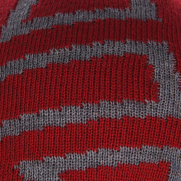 Шапка Etnies Icon Outline Beanie Red/Grey