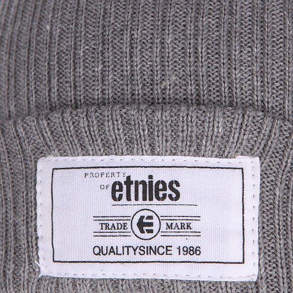 Шапка Etnies Classic Beanie Grey/Heather