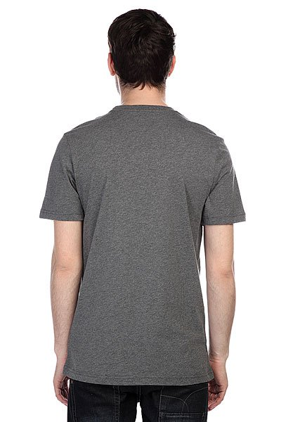 Футболка Etnies Super Charged S/S Tee Charcoal/Heather