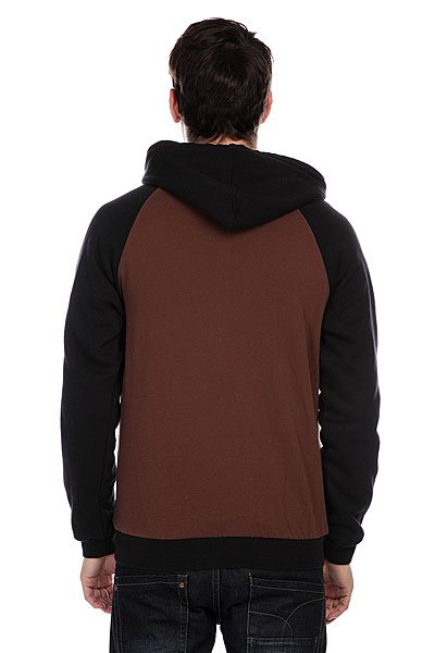 Толстовка утепленная Etnies Glasgow Repel Zip Fleece Dark Brown