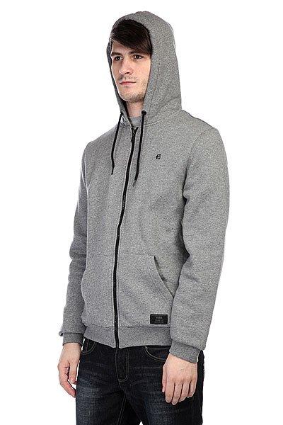Толстовка утепленная Etnies Classic Sherpa Zip Fleece Grey/Heather