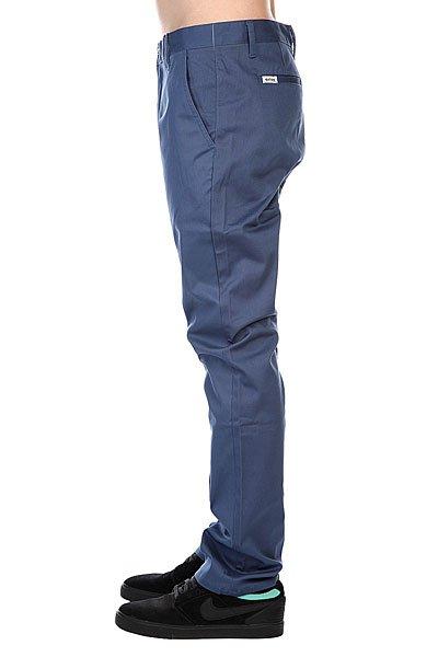 Штаны прямые Etnies Classic Slim Chino Pant Blue