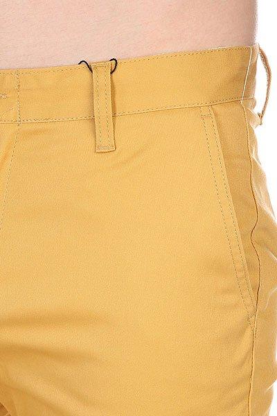 Штаны узкие Etnies Classic Slim Chino Pant Gold