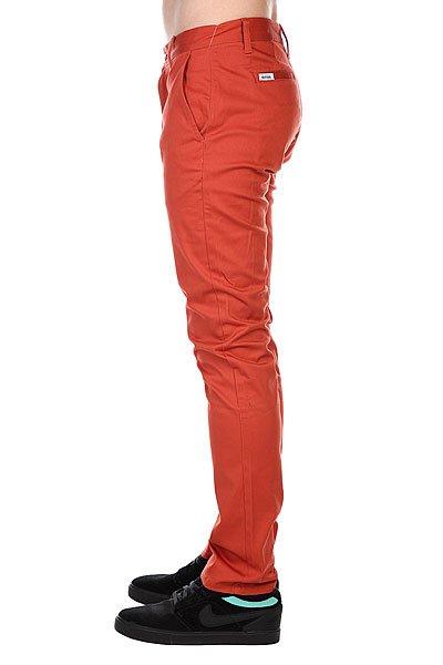Штаны узкие Etnies Classic Slim Chino Pant Coral