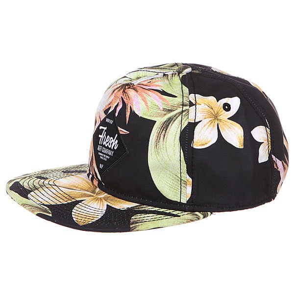 Бейсболка Neff Filthy Floral Deconstructed Black