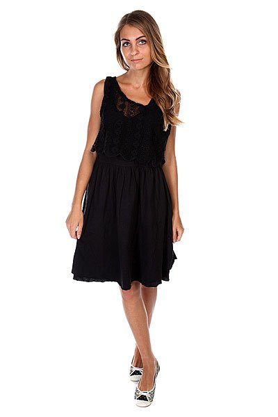 d6e76b55aeb3 Платье женское Billabong Come Easy Off Black