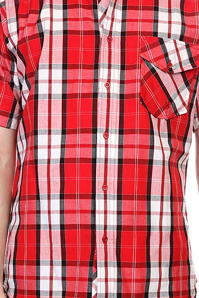 Рубашка в клетку Innes Maxwell Red