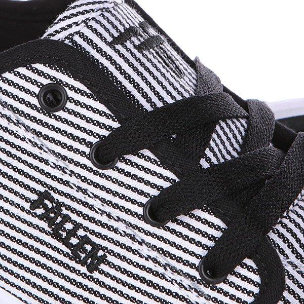Кеды низкие Fallen Daze White/Black Stripe