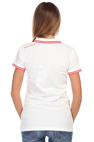 Поло женское Picture Organic Koven Polo White
