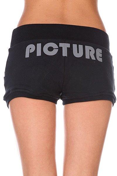 Шорты женские Picture Organic Pompom 2 Black