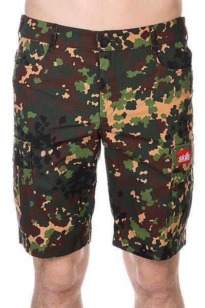 Шорты Skills Cargo Shorts 2 Ripstop Camo 2