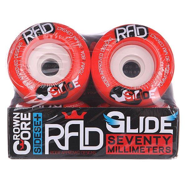 Колеса для лонгборда RAD Glide Wheels Red 80A 70 mm