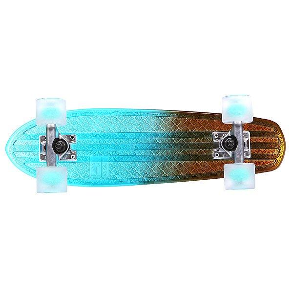 Скейт мини круизер Globe Bantam Clears Light Blue/Amber Fade 6.75 x 24 (61 см)