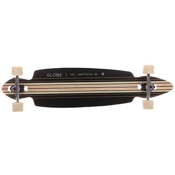 Лонгборд Globe Pinner Drop Through Black/Gold 9.75 x 41 (104.1 см)