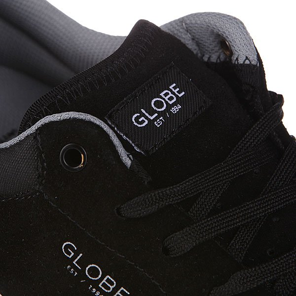 Кеды низкие Globe N Shinto Black/Grey
