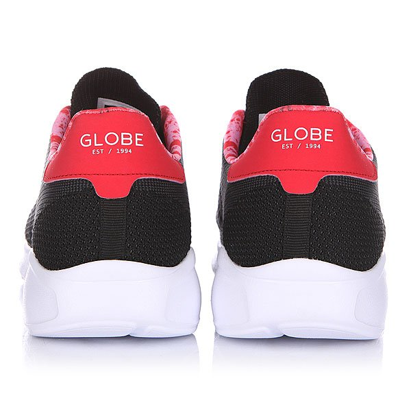 Кроссовки Globe N Avante Black/Red Lava