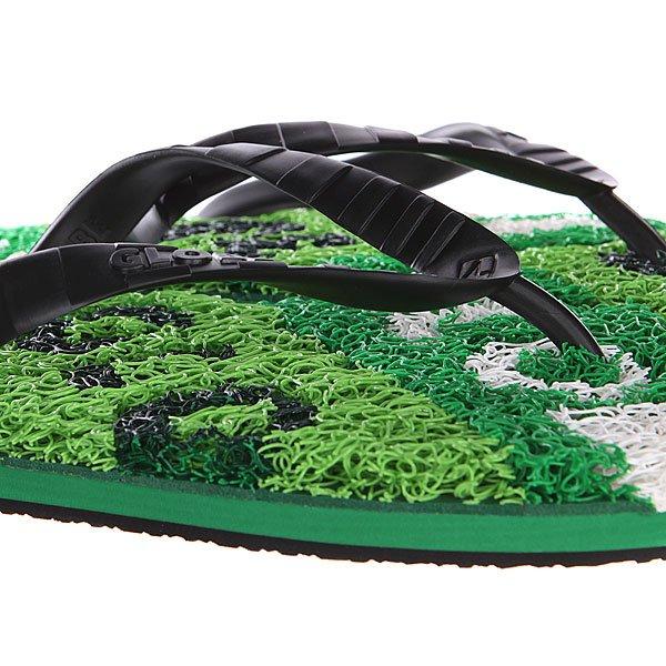 Шлепанцы Globe N Merkin-typo Green/Black