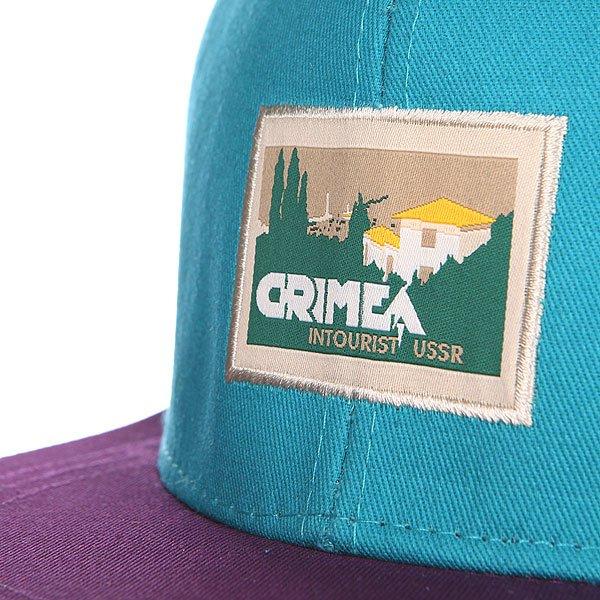 Бейсболка Запорожец Крым Blue/Purple